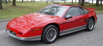1986 Pontiac Fiero for sale 100923719