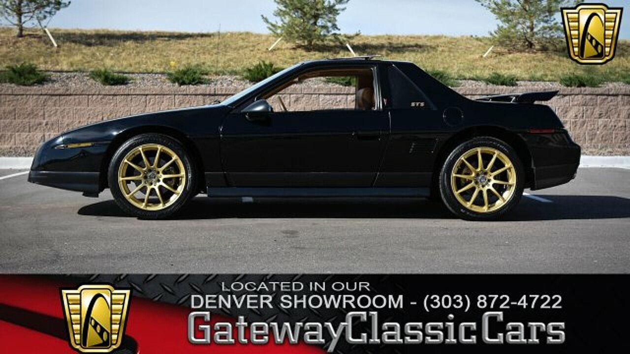 1986 Pontiac Fiero SE for sale 100949120