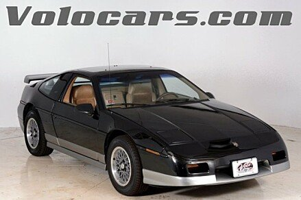 1986 Pontiac Fiero GT for sale 100896530