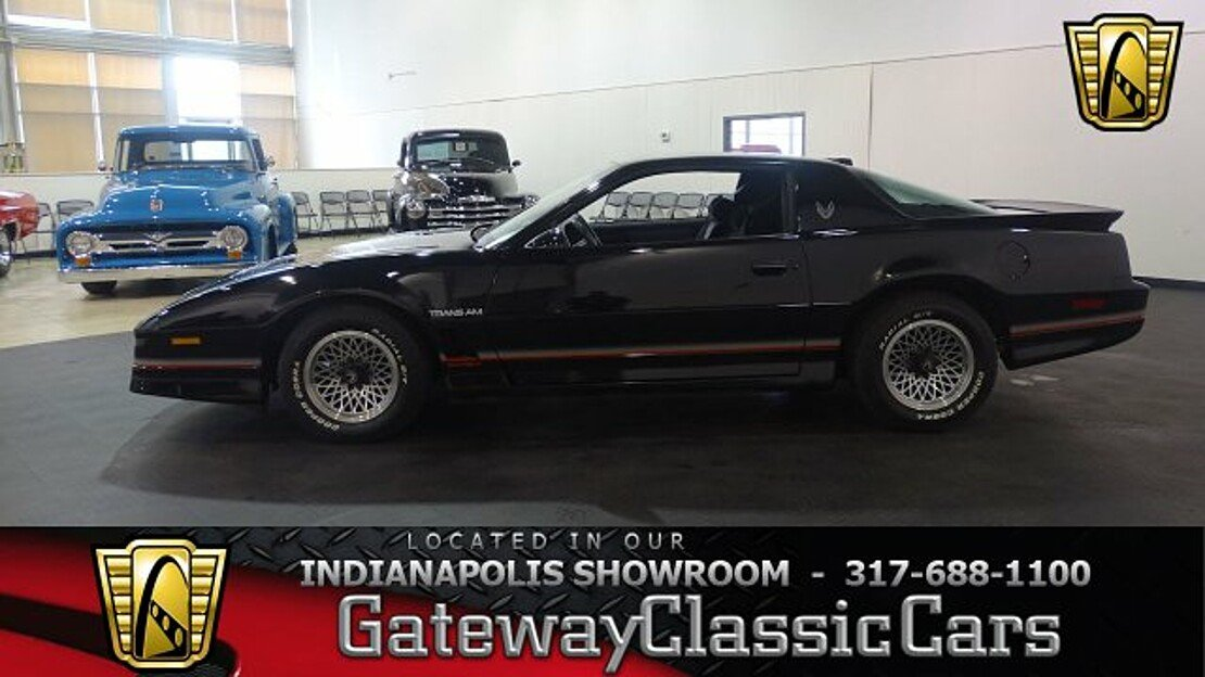 1986 Pontiac Firebird Trans Am Coupe for sale 100967923