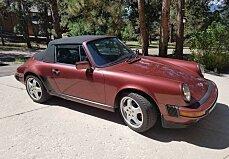 1986 Porsche 911 Carrera Cabriolet for sale 100907862