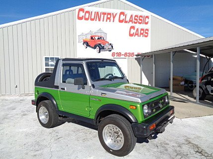 1986 Suzuki Samurai for sale 100927352