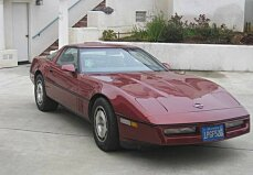 1986 chevrolet Corvette Coupe for sale 101009048
