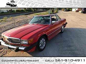 1986 mercedes-benz 560SL for sale 100979980