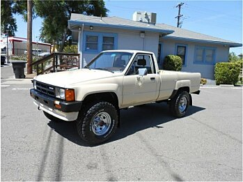 1986 toyota Pickup 4x4 Regular Cab Deluxe for sale 100991117