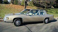 1987 Cadillac De Ville Coupe for sale 100736431