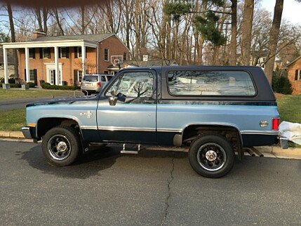 1987 Chevrolet Blazer 4WD for sale 100746658