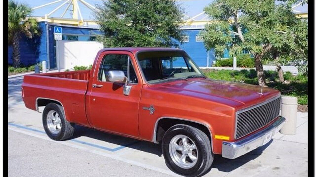 1987 Chevrolet C/K Truck 2WD Regular Cab 1500 for sale 100836384
