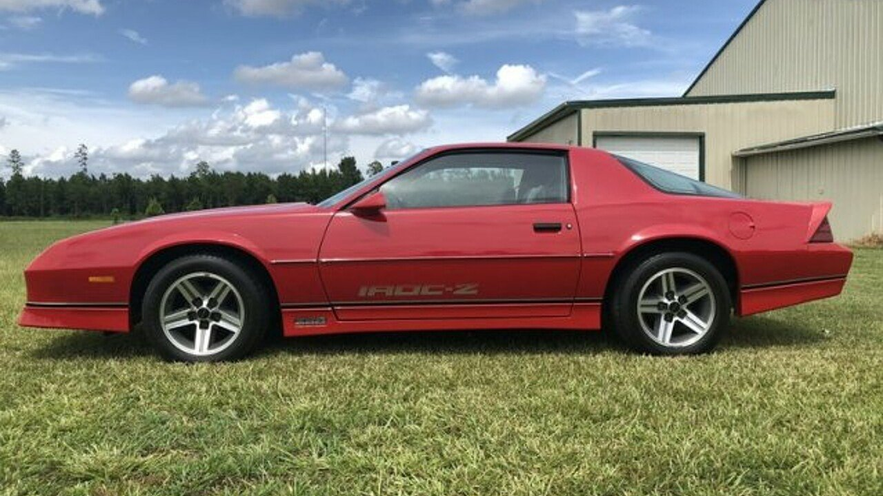 1987 Chevrolet Camaro Coupe for sale 101007817
