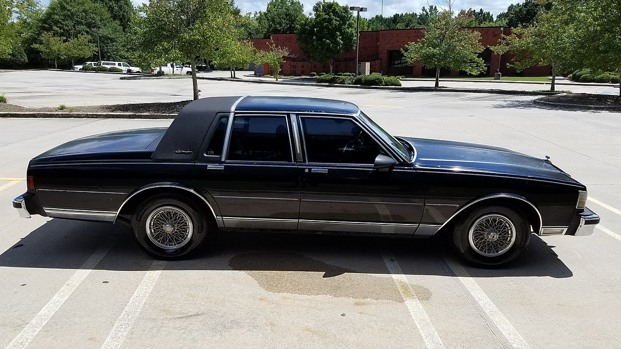 1987 chevrolet caprice classic brougham sedan for sale near lithonia georgia 30058 classics. Black Bedroom Furniture Sets. Home Design Ideas