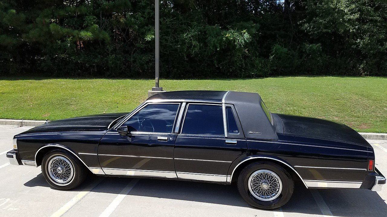 1987 chevrolet caprice classic brougham sedan for sale. Black Bedroom Furniture Sets. Home Design Ideas