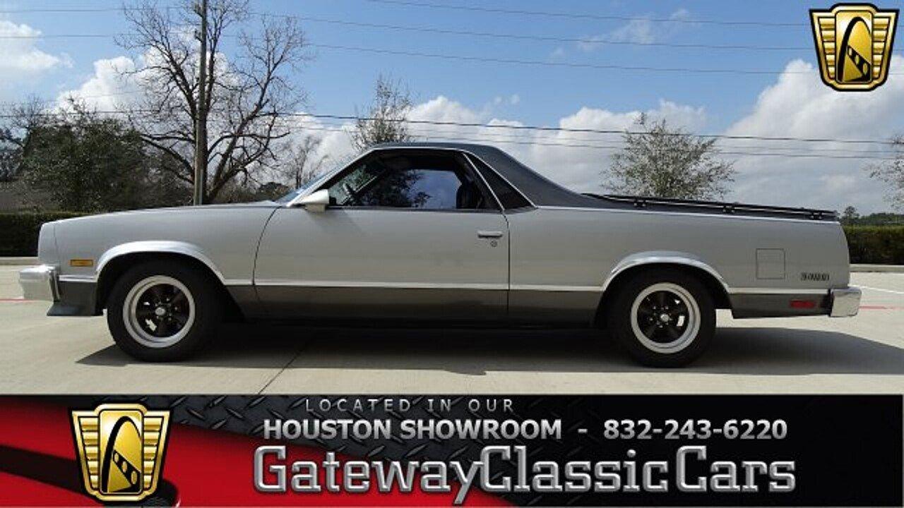 1987 Chevrolet El Camino V8 for sale near O Fallon, Illinois 62269 ...
