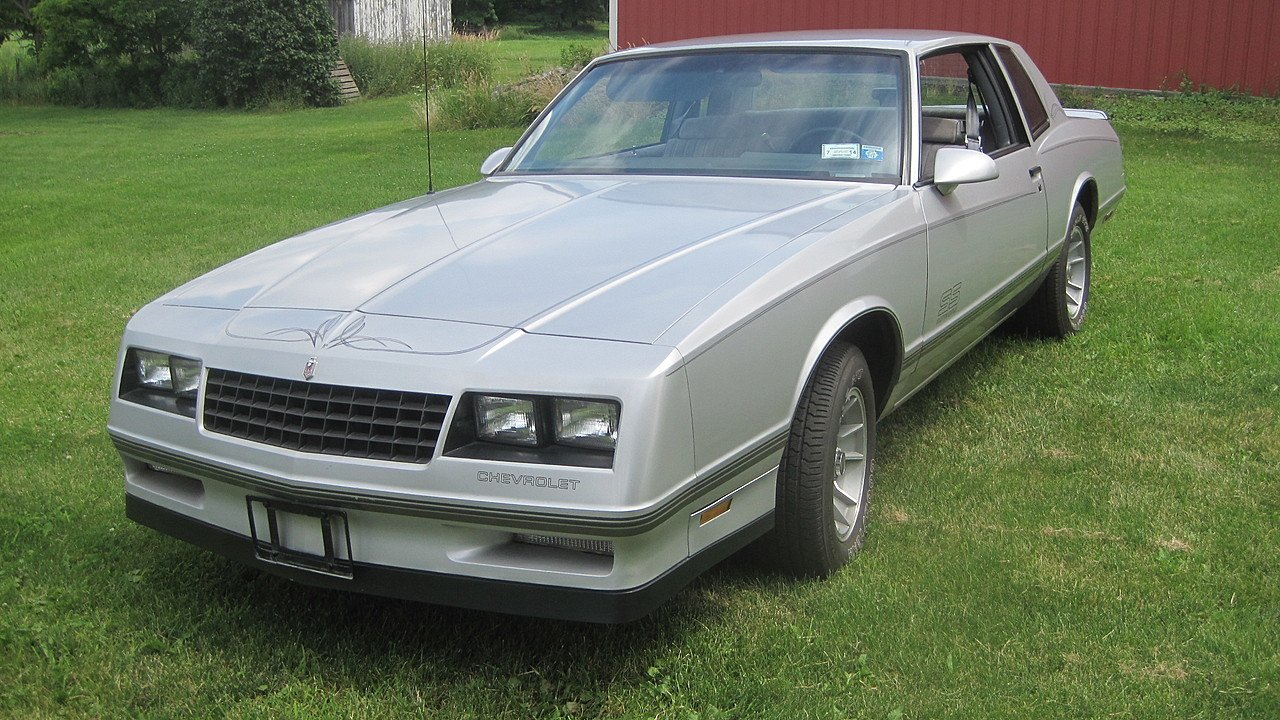 All Chevy 1987 chevrolet monte carlo ss : 1987 Chevrolet Monte Carlo SS for sale near Sanborn, New York ...