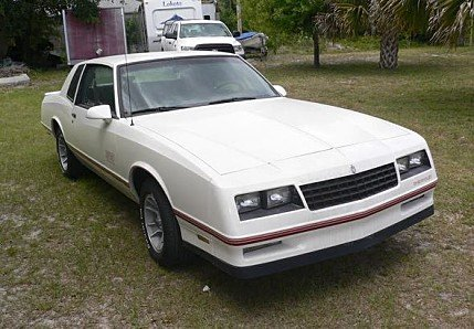 1987 Chevrolet Monte Carlo SS for sale 100873735