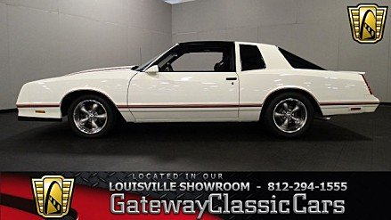 1987 Chevrolet Monte Carlo SS for sale 100920083