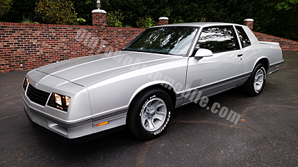 1987 Chevrolet Monte Carlo SS for sale 100987212