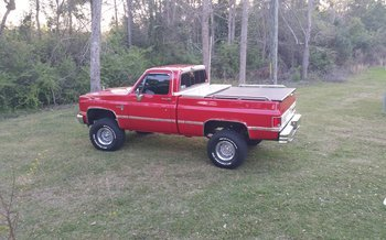 1987 Chevrolet Silverado and other C/K1500 4x4 Regular Cab for sale 100751303