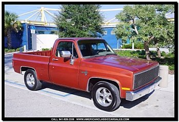1987 Chevrolet Silverado and other C/K1500 2WD Regular Cab for sale 100836384
