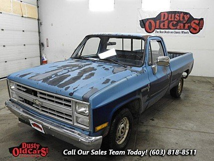1987 Chevrolet Silverado and other C/K1500 2WD Regular Cab for sale 100742834