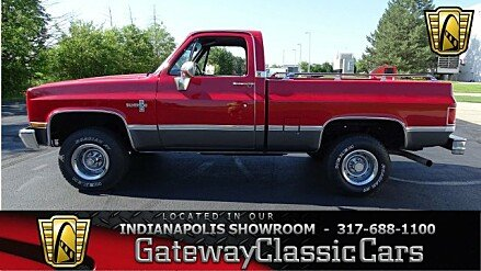 1987 Chevrolet Silverado and other C/K1500 4x4 Regular Cab for sale 100881943