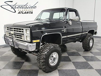 1987 Chevrolet Silverado and other C/K1500 4x4 Regular Cab for sale 100894641