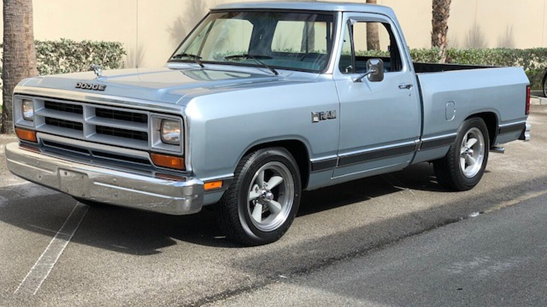 1987 Dodge D/W Truck 2WD Regular Cab D-100 for sale 100991589