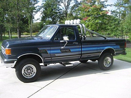 1987 Ford F250 4x4 Regular Cab for sale 100882202
