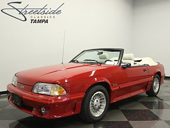 1987 Ford Mustang GT Convertible for sale 100870904