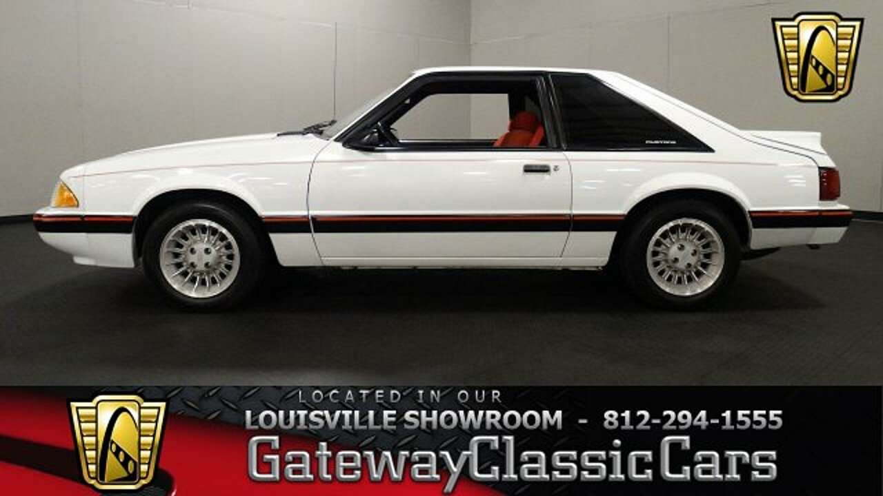 1987 Ford Mustang LX Hatchback for sale 100920292