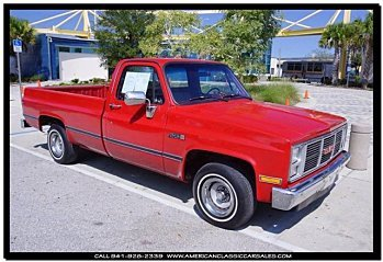 1987 GMC Sierra C/K1500 2WD Regular Cab for sale 100724166
