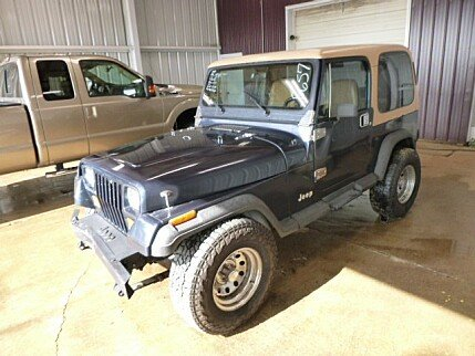 1987 Jeep Wrangler 4WD Sport for sale 100895542