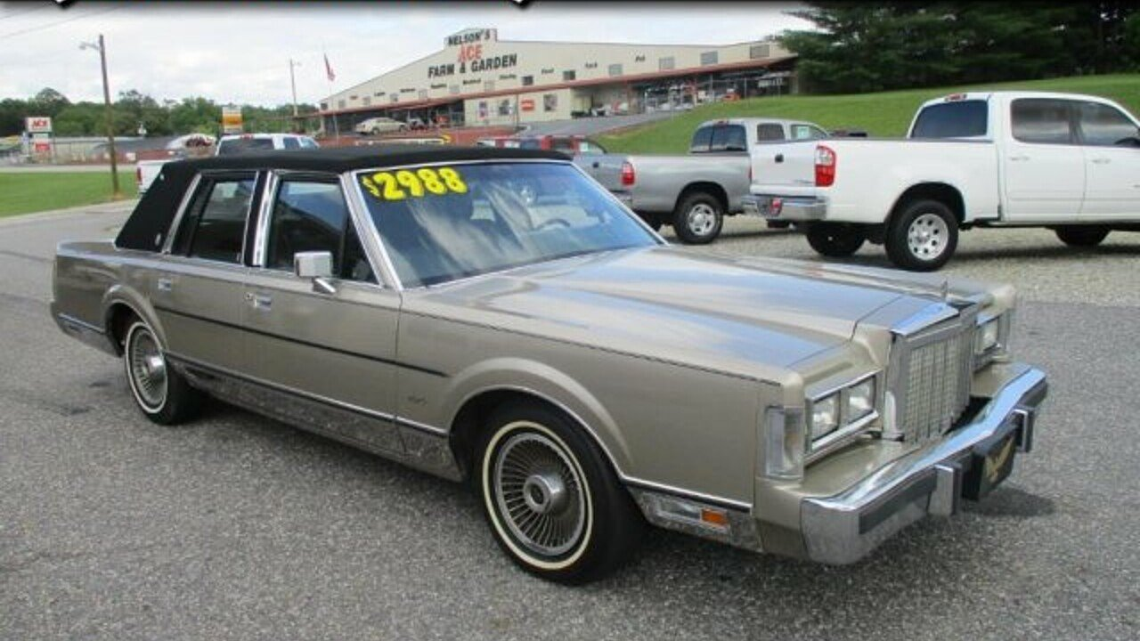 1987 Lincoln Town Car Signature for sale 100995161