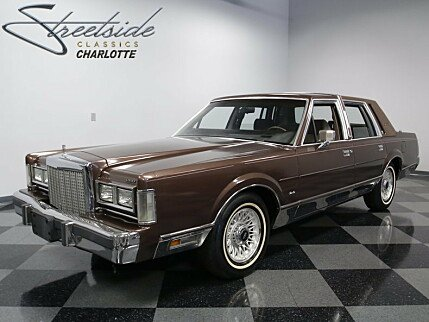 1987 Lincoln Town Car Signature for sale 100890825