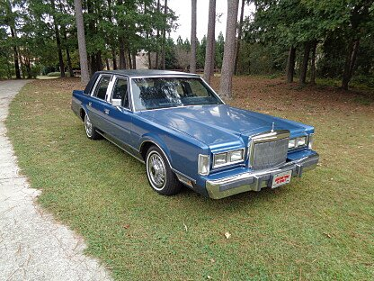 1987 Lincoln Town Car Signature for sale 100913330