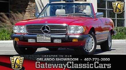 1987 Mercedes-Benz 560SL for sale 100965612