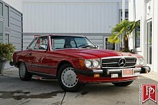 1987 Mercedes-Benz 560SL for sale 100988236