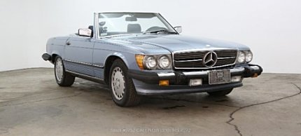 1987 Mercedes-Benz 560SL for sale 100991952