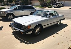 1987 Mercedes-Benz 560SL for sale 101009795