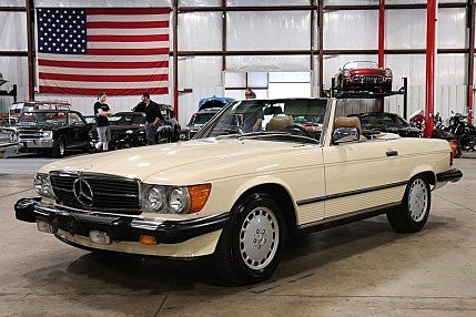 1987 Mercedes-Benz 560SL for sale 101011397
