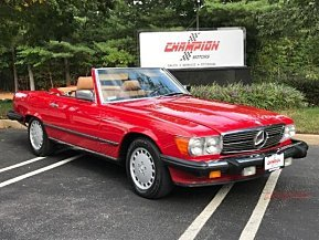 1987 Mercedes-Benz 560SL for sale 101034114