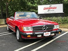1987 Mercedes-Benz 560SL for sale 101034122