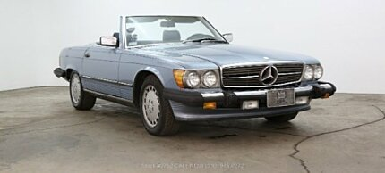 1987 Mercedes-Benz 560SL for sale 101040709
