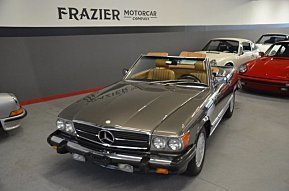 1987 Mercedes-Benz 560SL for sale 101048029