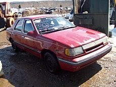 1987 Mercury Topaz GS Sedan for sale 100292480