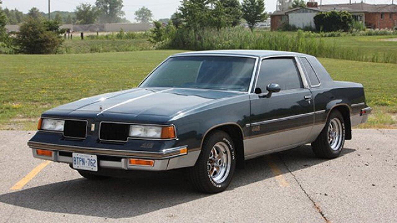 1987 oldsmobile cutlass supreme 442 coupe for sale 100891286