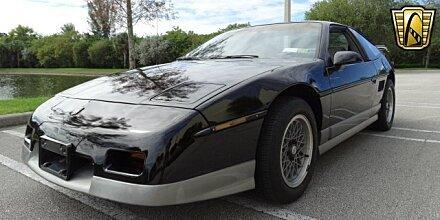1987 Pontiac Fiero GT for sale 100819605