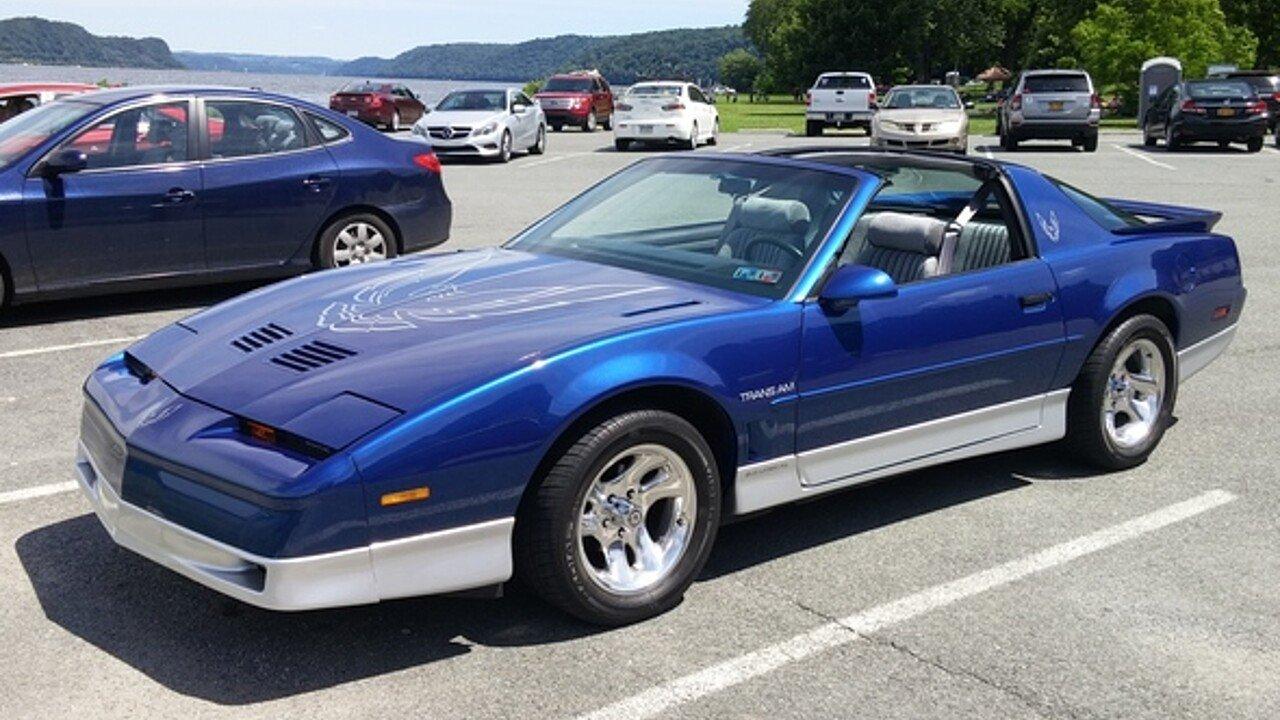 1987 pontiac firebird trans am coupe for sale 100893374