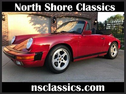 1987 Porsche 911 Carrera Cabriolet for sale 100880323