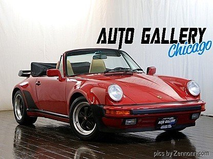1987 Porsche 911 Turbo Cabriolet for sale 101006921