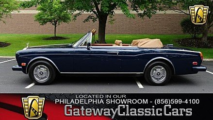 1987 Rolls-Royce Corniche II for sale 100874999